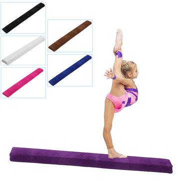 120cm Balance Beam Yoga Mats Flannel Software Stitching Gymnastics Children Training Gym Sports
