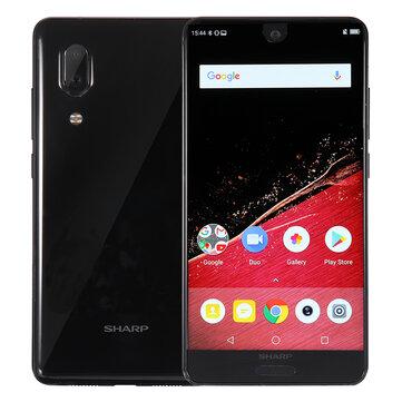 SHARP AQUOS S2 (C10) النسخة العالمية 5.5 Inch FHD + NFC Android 8.0 4GB RAM 64GB ROM Snapdragon 630 Octa Core 2.2GHz 4G Smartphone