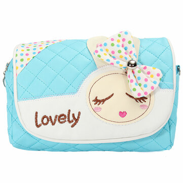 Buy New Kids Children Girls Princess Pretty Handbag Shoulder Bags Messenger Bag with 6 on Gipsybee.com