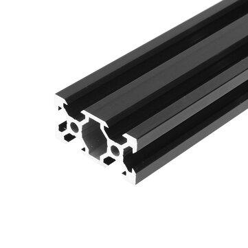Machifit 100-1000mm Black 2040 V-Slot Aluminum Profile Extrusion Frame for CNC Tool DIY
