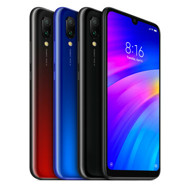Xiaomi Redmi 7 Global Version 6.26 inch Dual Rear Camera 2GB RAM 16GB ROM Snapdragon 632 Octa core 4G Smartphone
