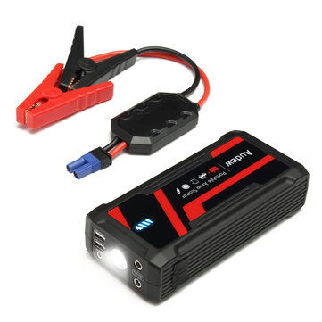 16800mah 12v car jump starter rechargeable lithium battery booster