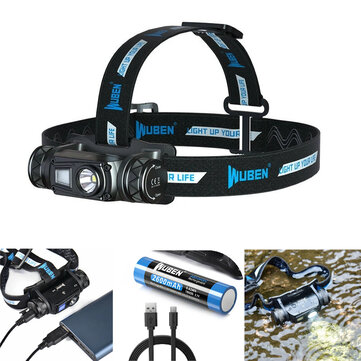 WUBEN H1 OSRAM P9 1200LM USB Rechargeable LED Headlamp
