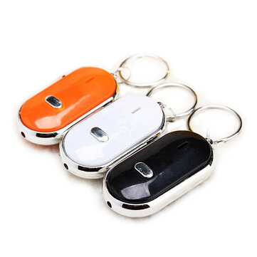 Whistle Key Finder Keychain Sound LED With Whistle Claps