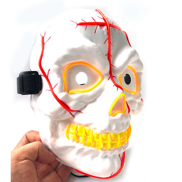How can I buy Neon Led Luminous Joker Mask Carnival Festival Light Up EL Wire Mask Halloween Decor with Bitcoin