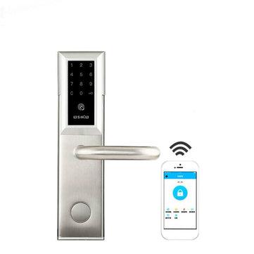 Electronic bluetooth Smart Door Lock Smartcode Digital Keyless Touch Password Home Office