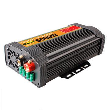 UNNC-7 10000W Peak Solar Power Inverter 5000W 12V DC To 110V AC Modified Sine Wave Controller