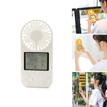 Mini Handheld Cooling Fan Multifunction 26 Modes Games Console USB Rechargeable 3 Modes Pocket Neck Hanging Fan Home Office Camping Travel Coupon Code and price! - $10