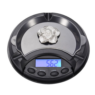 How can I buy 0.1/0.01 Mini Ashtray Pocket Portable Jewelry Scale CE Certification with Bitcoin