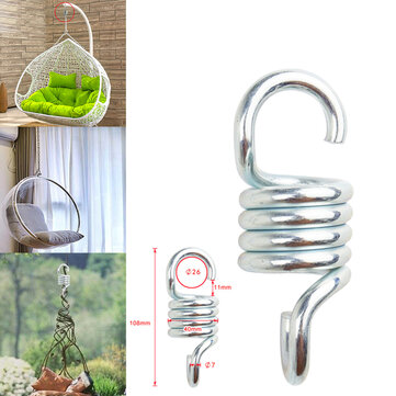 Buy 304 Steel Extension Spring Weight Capacity 300kg For Hammock Chair Swing with Litecoins with Free Shipping on Gipsybee.com