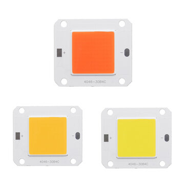 DC12V-14V 50W COB LED Chip White / Warm White / Full Spectrum Plant Grow Light DIY for Indoor