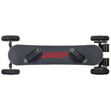 LAOTIE H2C 36V 10Ah 2x1650W Double Motor Electric Skateboard 40km/h Top Speed 25km Mileage Range Max Load 100kg