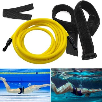 Swimming Resistance Belt Swim Water Training Harness Swimming Belt Swim Tether Kit for sale in Litecoin with Fast and Free Shipping on Gipsybee.com