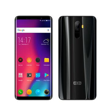 Elephone U 5.99 Inch AMOLED Flexible Curved Display 4GB RAM 64GB ROM MTK6763 2.0GHz 4G Smartphone