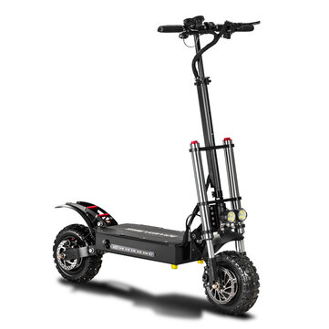 BOYUEDA 28.6AH 60V 5600W Dual Motor Folding Electric Scooter 11inch 85km or h Top Speed 110 130km Mileage Range Max Load 400kg