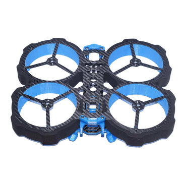 AuroraRC MAMFU4 DUCT 190mm 4 Inch Frame Kit / Frame Kit + DJI AIR UNIT for Whoop RC FPV Racing Drone