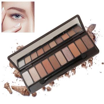 10 färger Eye Shadow Palette Set Glitter Shimmer Långvarig Vattentät