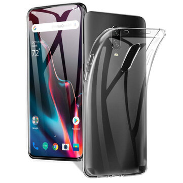 BAKEEY Transparent Ultra-thin Soft TPU Protective Case For OnePlus 7