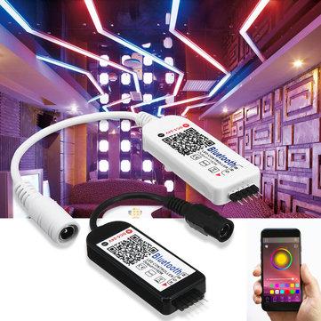 5 Pin Smart LED RGB RGBW Bluetooth Controller per 5050 3528 Strip Light DC5-24V