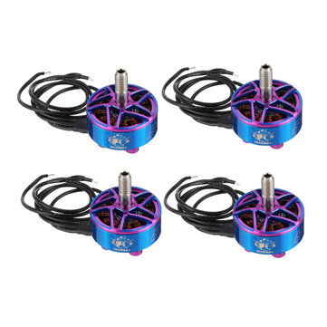 4 PCS 3Bhobby B-75 2207.5 1900KV 6S Brushless Motor for 200-250mm 5 Inch RC Drone FPV Racing