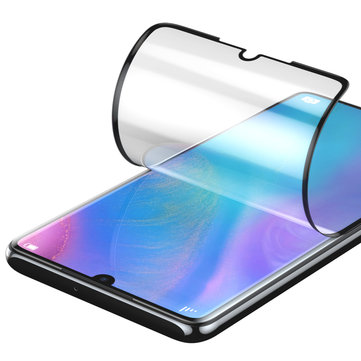 Baseus 2PCS 0.15mm Couverture intégrale incurvée Haute Définition anti-déflagrant Soft pour Huawei P30 Pro