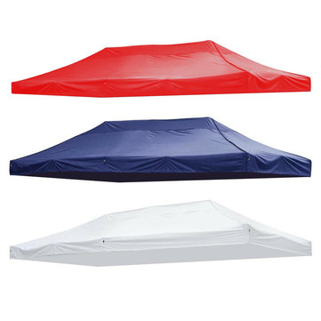 420D Canopy Top Replacement Outdoor UV Sunshade Tent Polyester Cover