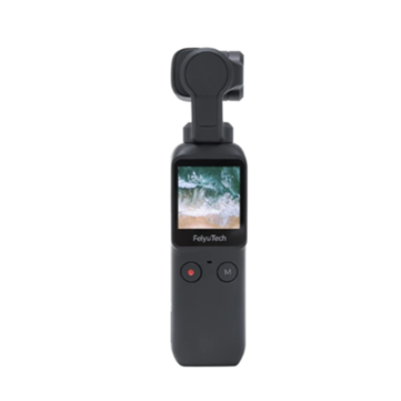 $199.99 for Feiyu Pocket New Smart Compact HD 4K 120M Camera 120 Degree 6-Axis Stabilized Handheld Gimbal