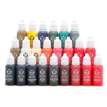 Tattoo Ink 23 Colors Tattoo Pigment Ink Easy To Color Waterproof Eyebrow Tattoo Ink Pro Body Art Accessories