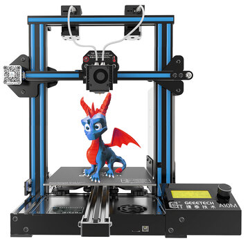 Geeetech® A10M Mix-color Prusa I3 3D Printer 220*220*260mm Printing Size With Dual Extruder/Filament Detector/Power Resume/3:1 Gear Train/Open Source Control Board
