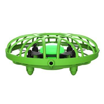 Eachine E111 Mini Infrared Sensing Control Tangan Dioperasikan Mode Tahan Ketinggian RC Drone Quadcopter