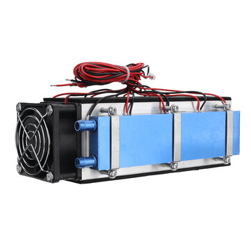 12V 576W 8-Chip TEC-12706 DIY Electronic Semiconductor Refrigeration Radiator for Air Conditioner Equipment Thermoelectric Cooling System Kit