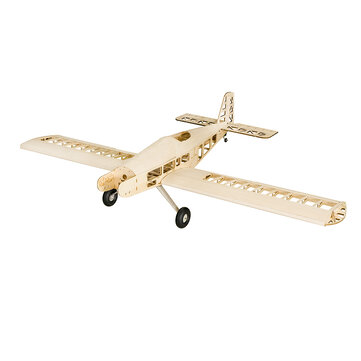 Dancing Wings Hobby T90 Tractors 2.1M Gas Powered Fixed Wing KIT 2130mm Wingspan Balsa Wood RC Trainer Airplane