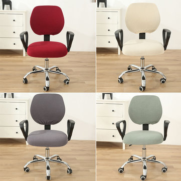 Swivel Computer Stretch Chair Covers Armchair Back Seat Decor Office Rotating Set Coupon Code and price! - $7