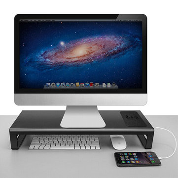 Smart Base Aluminum Alloy Base Holder Stand with USB 3.0 Port, Wireless Charging for PhoneFurniturefromHome and Gardenon banggood.com