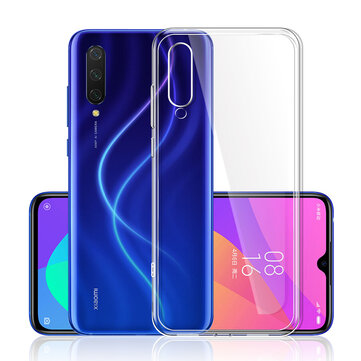 Bakeey Xiaomi Mi 9 Lite Crystal Clear Transparent Ultra-thin Soft TPU Protective Case for Xiaomi Mi CC9