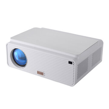Blitzwolf® BW-VP2 LCD Projector 6500 Lumens Support 4K Resolution Image Adjustment Multiple Ports Built-in Speaker Portable Smart Home Theater Projector With Remote Control