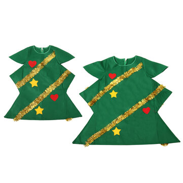 Buy Adult Christmas Tree Costume Ladies Novelty Christmas Tree Fancy Dress Outfits with Litecoins with Free Shipping on Gipsybee.com