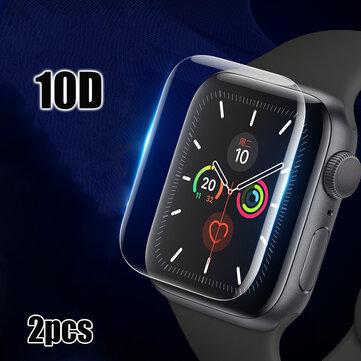 Bakeey 2 chiếc 40 / 44mm 10D Chống trầy xước HD Clear Full Cover Soft Hydrogel Flim Bảo vệ màn hình cho Apple Watch Series 5/Apple Watch Series 4