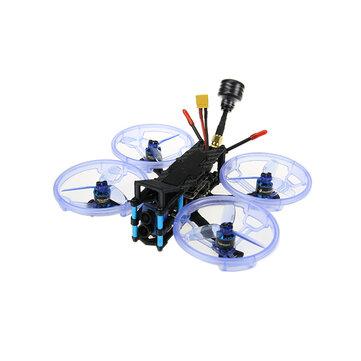 Settore HGLRC132 4K 132mm F4 3-4S 2.5-3 Pollici FPV Racing Drone PNP BNF con Caddx Tarsier 4K V2 fotografica