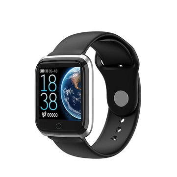 SENSFIT ME1049 IP67 Wristband Heart Rate Monitor Music Control Weather Display Smart Watch