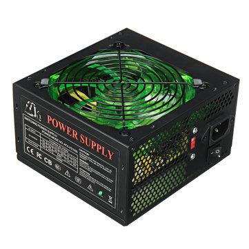 1000W Power Supply 120mm LED Fan 24 Pin PCI SATA...