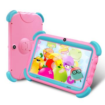 मूल बॉक्स आईआरयूएलयू वाई57 16GB आरके 3126 सी क्वाड कोर एआरएम कॉर्टेक्स A7 Android 7.1 7 इंच बच्चे टैबलेट