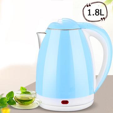 1.8L 1500W Electric Kettle Water Heater Boiler Stainless Steel Cordless Tea Kettle Water Kettle