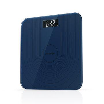 BlitzWolf® BW-SC2 Floor Body Smart Electric Digital Weight Health Balance Scale Toughened Glass LCD Display 180kg/50g