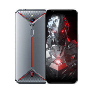 ZTE Nubia Red Magic 3S 6.65 Pulgadas FHD + 90Hz Android 9.0 5000mAh 8GB RAM 128GB ROM Snapdragon 855 Plus Octa Core 2.96GHz 4G Gaming Smartphone