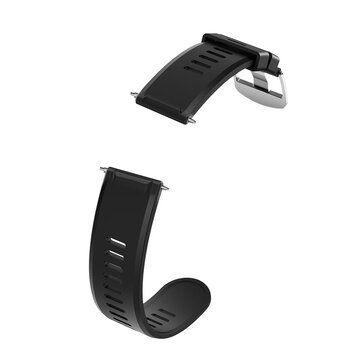 24mm Allcall Watch Strap Watch Band Silicone Leather Strap for AllCall Awatch GT