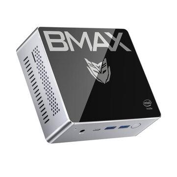 Bmax B2 Plus Mini PC Intel Celeron J4115 8GB DDR4 128GB SSD with Two Channel Speaker Intel 9th Gen UHD Graphics 600 Quad Core 1.8GHz to 2.5GHz BT5.0 HDMI Type C Win10 WiFI