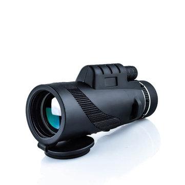 IPRee® 40x60 monoculaire optische HD 2000T-lenstelescoop BaK4 Dag Nachtzicht 1500m / 9500m Outdoor Camping Wandelen