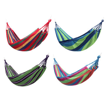 2 Person Hammock Chair Hamac Outdoor Camping Leisure Bed Hanging Bed Double Sleeping