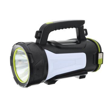 3500LM 500W LED Searchlight LED USB Searchlight 3 Modes Spotlight Flashlight Work Light